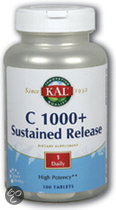 Kal Vitamine C 1000 + Sustained Release - 60 Tabletten- Vitaminen