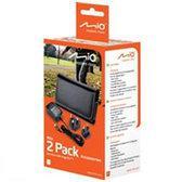 Mio Duopack Tas 4.3/4.7 inch + Thuislader 220V