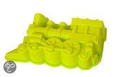 Sorbo Bakvorm - Trein - Siliconen - Geel