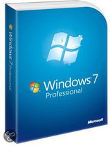 Microsoft Windows 7 Professional - Engels / DVD