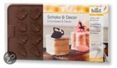 Birkmann Chocoladevorm - Bloemen en Bladeren