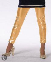 Feestkleding Legging goud meisje Maat 128