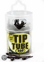 Dimple Tube Softtip Reservepunten 2Ba - 200 stuks - Zwart