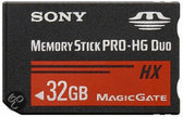 Sony MSHX32A pro-duo 32 GB geheugenkaart