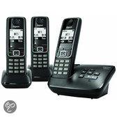 Gigaset A420A - Trio DECT telefoon met antwoordapparaat - Zwart