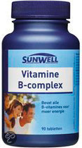 SunWell Vitamine B-Complex - 90 Tabletten - Vitaminen