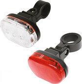 Dyto - Fietsverlichting Set - Batterij - LED - Rood