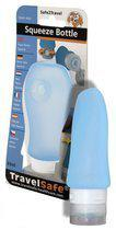 Travelsafe Siliconen Knijpfles - 89 ml - Blauw