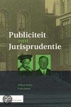 Publiciteit van Jurispudentie