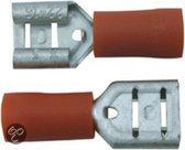 Skandia Vlakstekerhulzen - Rood - 10 Stuks