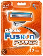 Gillette Fusion Power - 12 stuks - Scheermesjes