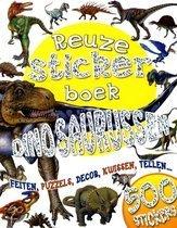Dinosaurussen Reuzestickerboek