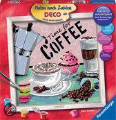 Ravensburger Schilderen op nummer coffee
