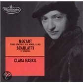 Mozart: Piano Concerto no 20; Scarlatti: Sonatas / Haskil, Swoboda et al