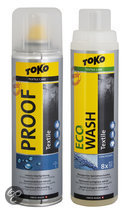 Toko Careline Combipack - Textile Proof & Eco Wash- 500/250ml