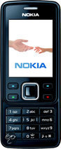 Nokia 6300 - Zwart