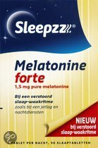 Sleepzz Melatonine Forte 1,5 mg - Slaapproduct