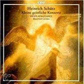 Heinrich Schutz: Kleine geistliche Konzerte / Manfred Cordes