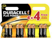 Duracell AA Power Plus Batterijen