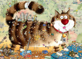 Heye Puzzel - Cat's Life, Degano