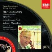 Mendelssohn, Bruch: Violin Concertos / Menuhin, Kurtz, et al