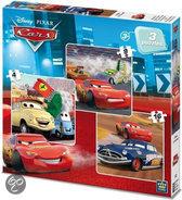 3 in 1 Disney Puzzel Cars