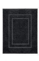 Kleine Wolke - Douchemat Plaza zwart 60x 80 cm