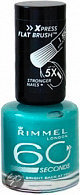 Rimmel 60 Seconds Finish - 835 Sky - Groen - Nagellak