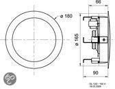 Visaton Dl13 Hifi Plafond Luidspreker 100 V 13 Cm ( 5
