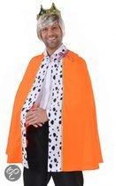 Luxe oranje koning cape