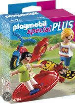 Playmobil Kinderen met Speeltuig - 4764