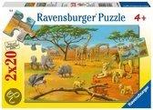 Ravensburger Puzzel - In de Wildernis