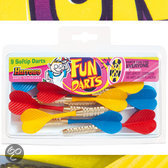 Harrows Fun Brass Softtip - Multi - Dartpijlen