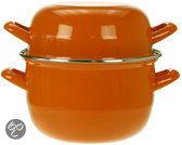 Cosy&Trendy Mosselpan - Ø 18 cm - Oranje