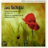 Boccherini: Complete Symphonies Vol 3 / Johannes Goritzki