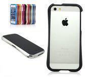 iPhone 5 Cleave Design Aluminium Bumper Case zwart