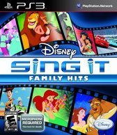 Disney Sing It Family Hits Playstation 3