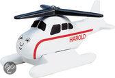 Fisher-Price - Thomas de Trein Houten Spoorbaan Harold de Helikopter klein