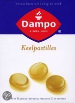 Dampo - 24 st - Keelpastilles