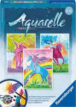 Aquarelle - Eenhoorns