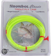 Snowbee Classic Floating Cfhv-5 Fly Line - 27.4 m - Chartreuse