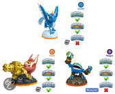 Skylanders Giants Adventure Triple Pack Pop Fizz, Trigger Happy, Whirlwind Wii + PS3 + Xbox360 + 3DS + Wii U + PS4