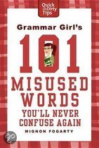 Omslag van 'Grammar Girl's 101 Misused Words You'll Never Confuse Again'