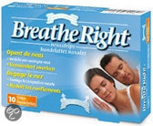 Breathe Right Large - 10 stuks - Neusstrips
