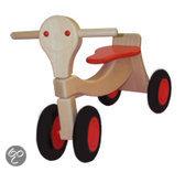 Houten Loopfiets - Sportbike Rood