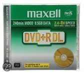 Maxell DVD+R DualLayer Jewelcase