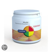 Plantina Essentials Multi Vitamine A-Zink 30 Tabletten