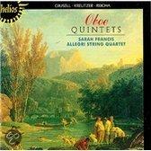 Crusell, Kreutzer, Reicha: Oboe Quintets / Sarah Francis