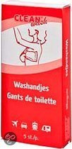 Clean-wash washandjes - 5 st