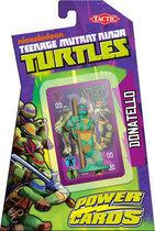 Teenage Mutant Ninja Turtles Power Cards incl. Leonardo Figure - Kaartspel
